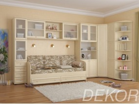 """Набор мебели в детскую комнаты с кроватью """"Комплект-2"""""""
