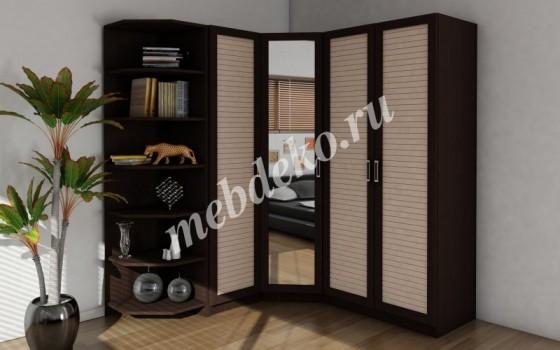 Набор шкафов угловой Меркурий-2 с наборным фасадом