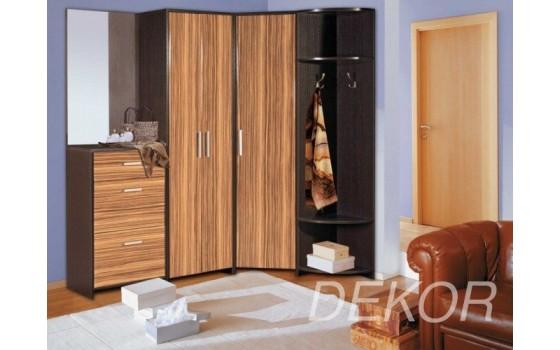 Мебель для прихожей с угловым шкафом Арт-2
