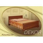 """Двуспальная кровать из массива  дерева  """"Авиталь"""""""