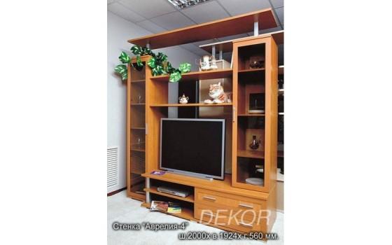 """Мебель в гостиную с нишей под тв """"Аврелия-4"""""""