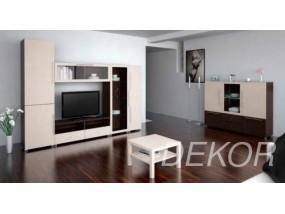 """Мебель для гостиной комнаты с нишей под телевизор """"Борнео-11"""""""