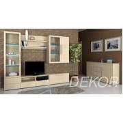 """Мебель для гостиной со стеклом """"Борнео-1"""""""