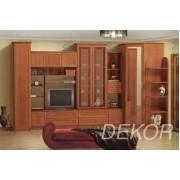"""Комплект мебели в гостиную комнату с нишей под тв и угловым элементом """"Бравия-8"""""""