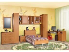 """Комплект мебели в детскую с кроватью и прикроватной тумбой  """"Дана-3"""""""