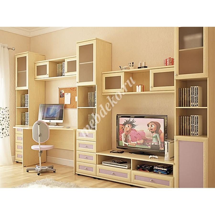Корпусная мебель : стенка детская олимп, образец 3.
