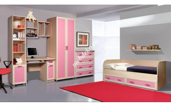 """Набор мебели в детскую """"Лана"""" с кроватью"""
