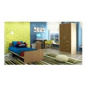 """Детская комната с кроватью, шкафом и столом с ящиками """"Лёва-2"""""""