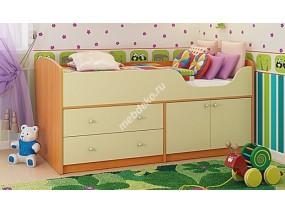"""Детская кровать с двумя выдвижными ящиками """"Приют-мини"""""""
