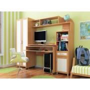 """Мебель для детской комнаты """"Пятёрочка"""" с распашным шкафом"""