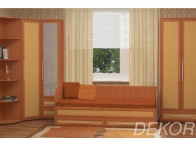 """Детская мебель """"София-1"""" с кроватью с выкатными ящиками"""