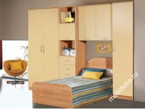"""Набор мебели в детскую комнату с платяным шкафом """"Спринт-8"""""""