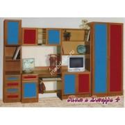 """Мебель для детской комнаты с платяным шкафом  """"Том и Джери-4"""""""