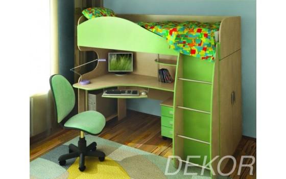"""Комплект мебели для детской комнаты с платяным шкафом """"Гном"""""""