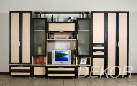 """Набор мебели в гостиную комнату с платяным шкафом и тумбой под тв """"Голиаф"""""""