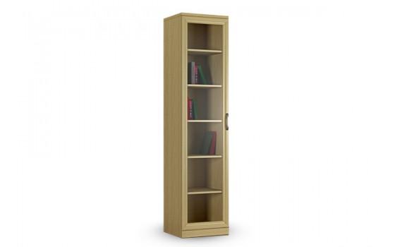Книжный шкаф КН-1 №1 со стеклом