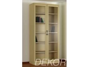 Шкаф книжный КН-2 №1 со стеклом