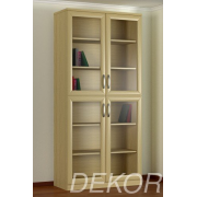 Книжный шкаф КН-2 №2 со стеклянными дверками