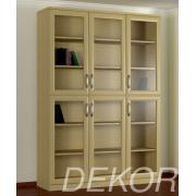 Шкаф для книг КН-3 №2 со стеклянными дверками
