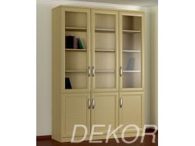 Книжный шкаф КН-3 №3 с распашными дверками