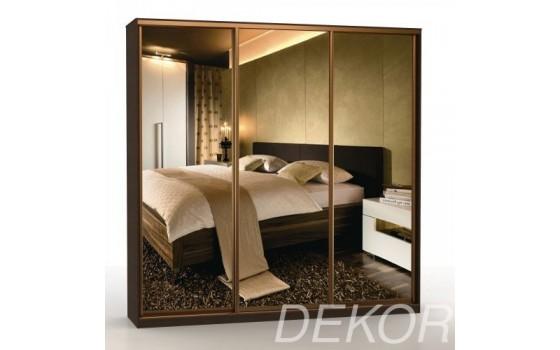 """Шкаф-купе """"Версаль-3"""" с зеркальными дверями"""