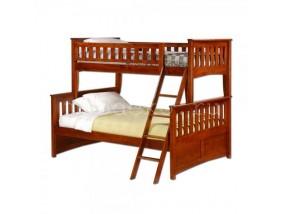 """Детская  2-х ярусная кровать из натурального дерева """"Модерн-2"""" с ящиками (в)"""