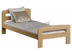 """Кровать из натурального дерева """"Верна"""""""