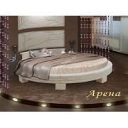 """Круглая кровать из натурального дерева """"Арена"""""""