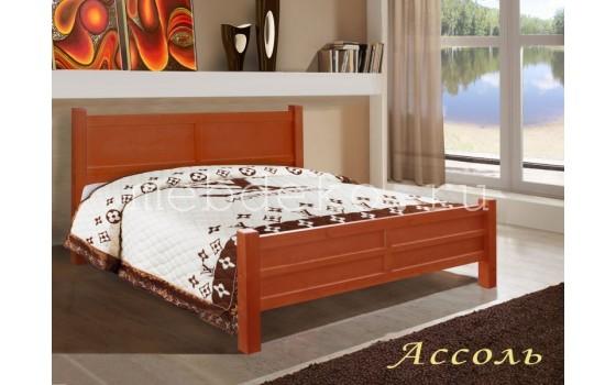 """Кровать из натурального дерева в классическом стиле """"Ассоль"""""""