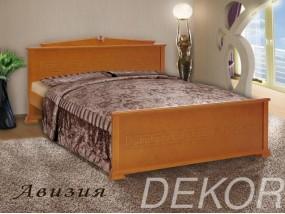 """Кровать из натурального дерева в классическом стиле """"Авизия"""""""