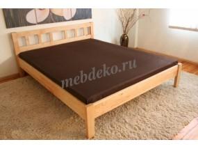 """Кровать из натурального дерева """"Ладжина"""""""