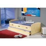 Кровать из натурального дерева Ева-11