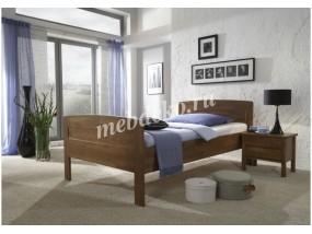 Кровать из натурального дерева Ева-15