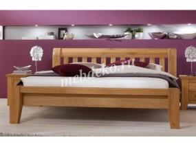 Кровать из натурального дерева Ева-6