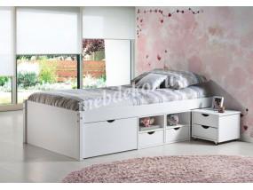 Кровать из натурального дерева Ева-4