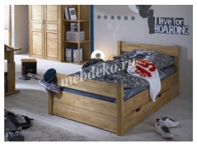 Кровать из натурального дерева Ева-7