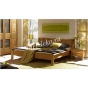 Кровать из натурального дерева Ева-8