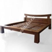 """Кровать в японском стиле """"Иошико"""" из натурального дерева"""