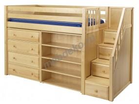 """Кровать чердак """"Ладислава"""" подростковая с ящиками"""