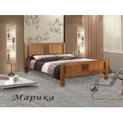 """Кровать из массива с 2 спинками """"Марика"""""""