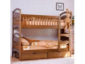 """Кровать подростковая """"Милослава-1"""" для двух детей с ящиками"""