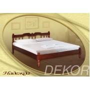 """Кровать из натурального дерева с 1 спинкой """"Надежда"""""""