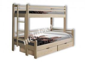 """Двухъярусная кровать """"Орлёнок с ящиками"""" (в)"""