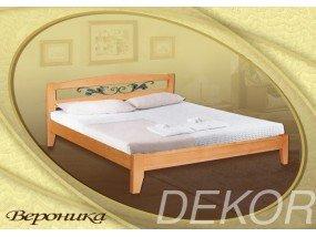 """Кровать из массива с ковкой """"Вероника"""""""