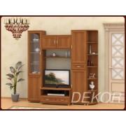 """Набор мебели в гостиную с прозрачным стеклом """"Лира-1"""""""