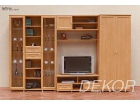"""Набор мебели в гостиную комнату со стеклом """"Лира-2"""""""