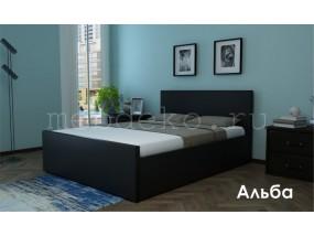"""Кровать в ткани """"Альба"""""""