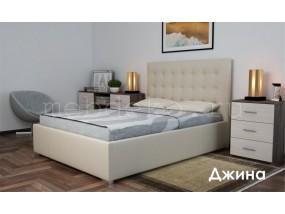 """Кровать в ткани """"Джина"""""""