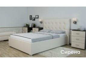 """Кровать в ткани """"Сирена"""""""