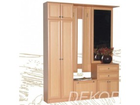 Мебель для прихожей Алёна с двухстворчатым шкафом и антресолью